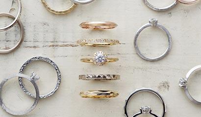 新潟の結婚指輪・婚約指輪アトリエクラムのセミオーダー・エンゲージ・マリッジリング