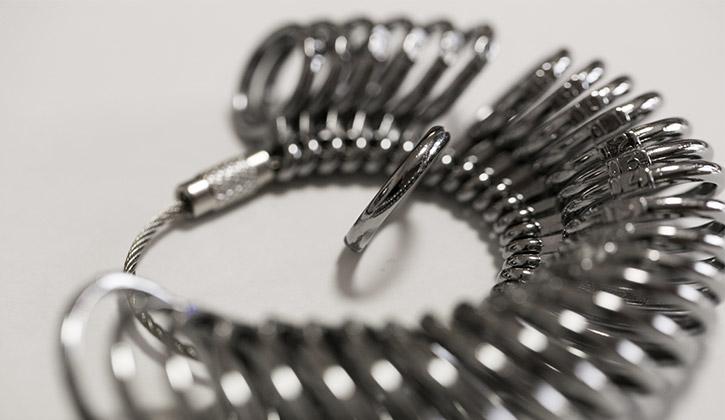 指輪のサイズ・リングゲージ