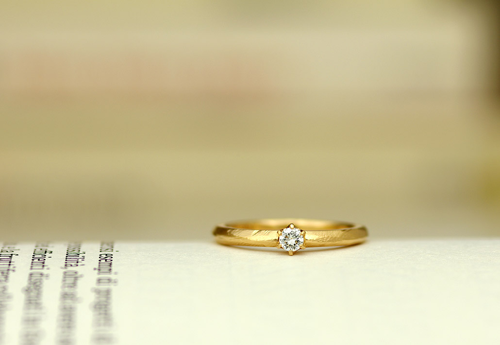 結婚指輪の事例