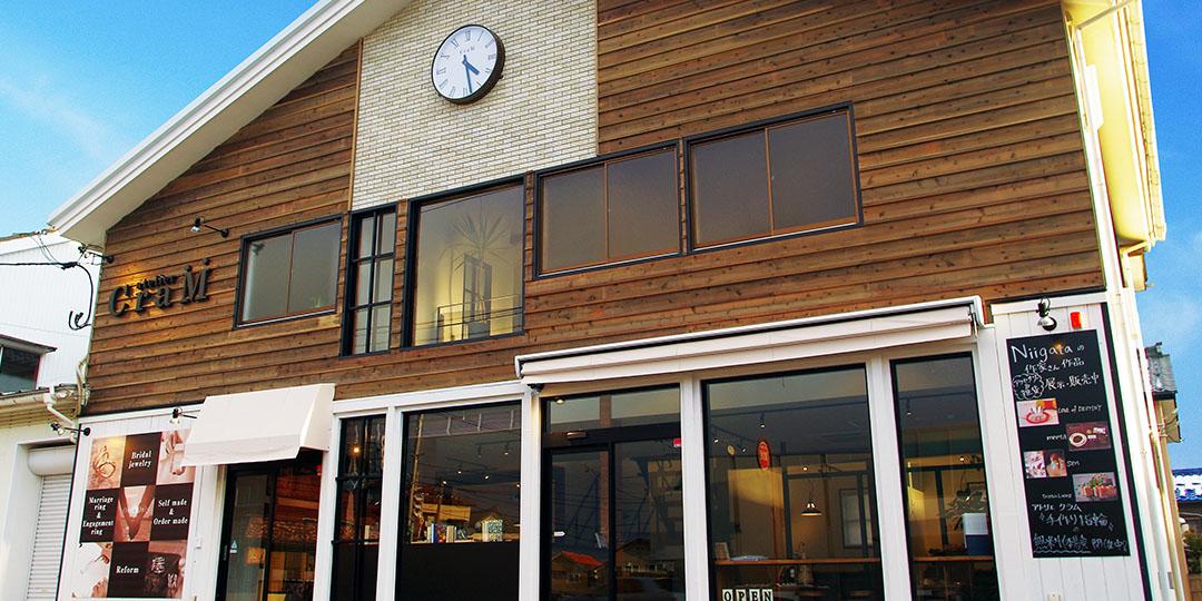 新潟県新潟市にあるブライダルジュエリーショップのアトリエクラム新潟店