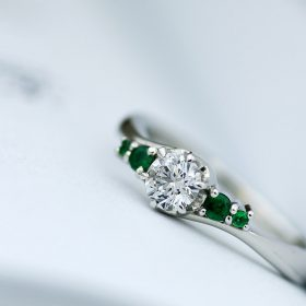 新潟県のジュエリー工房の職人が作る質の良いオーダーメイド婚約指輪(エンゲージリング)