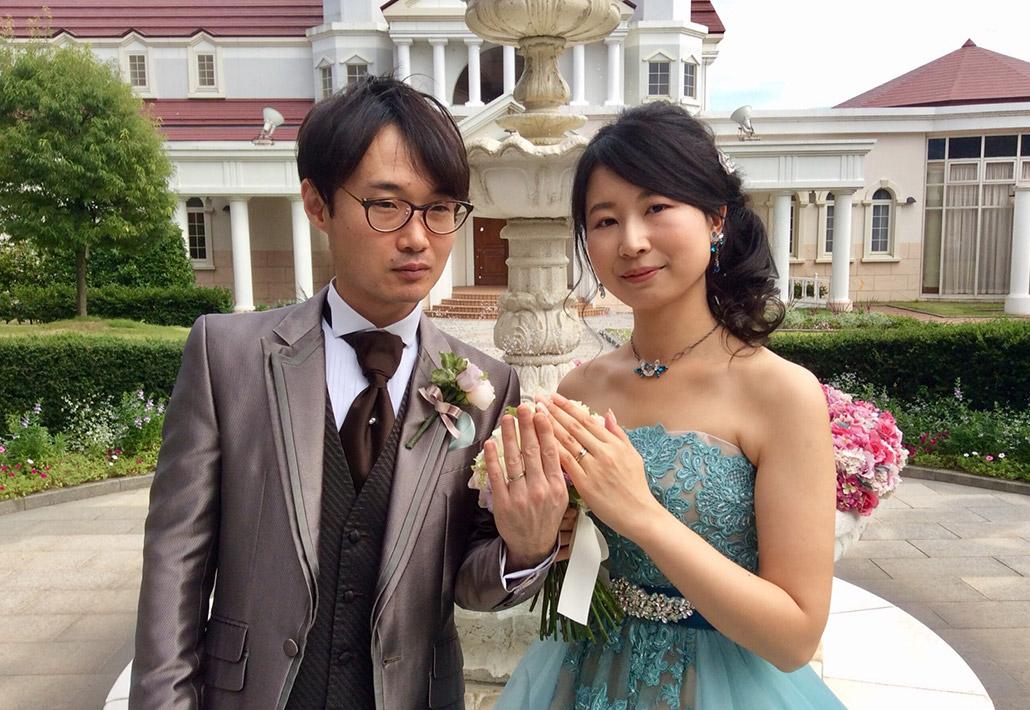 ご結婚式でのご様子