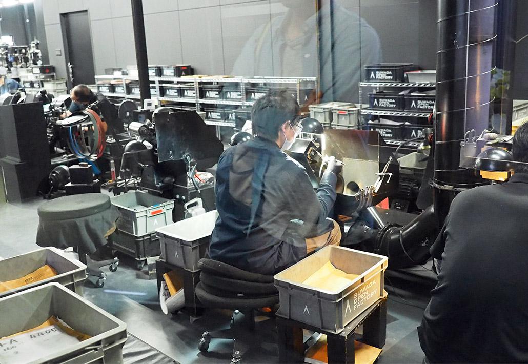 諏訪田製作所のメインファクトリー