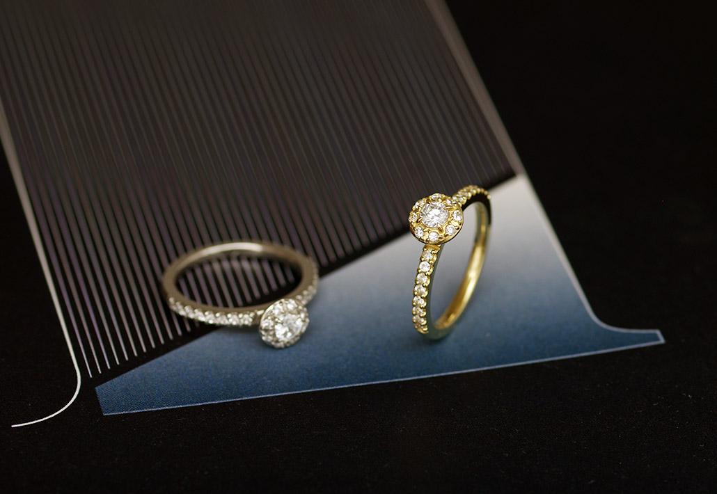 セミオーダーブランドのダイヤモンド婚約指輪