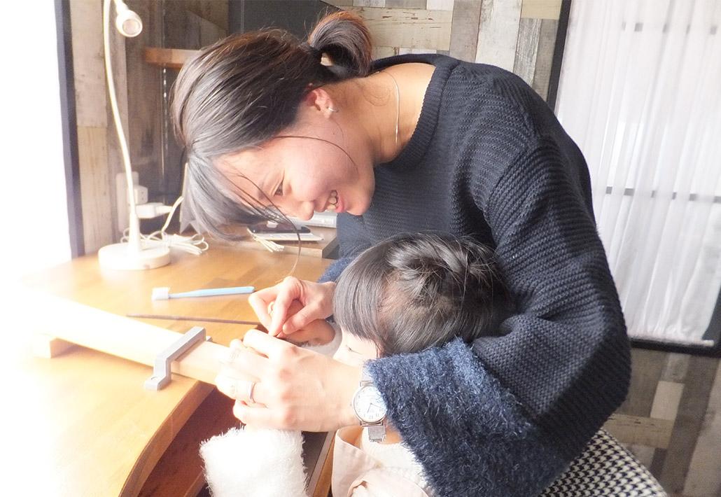 小さな子供でも簡単に指輪が作れるロストワックス製法