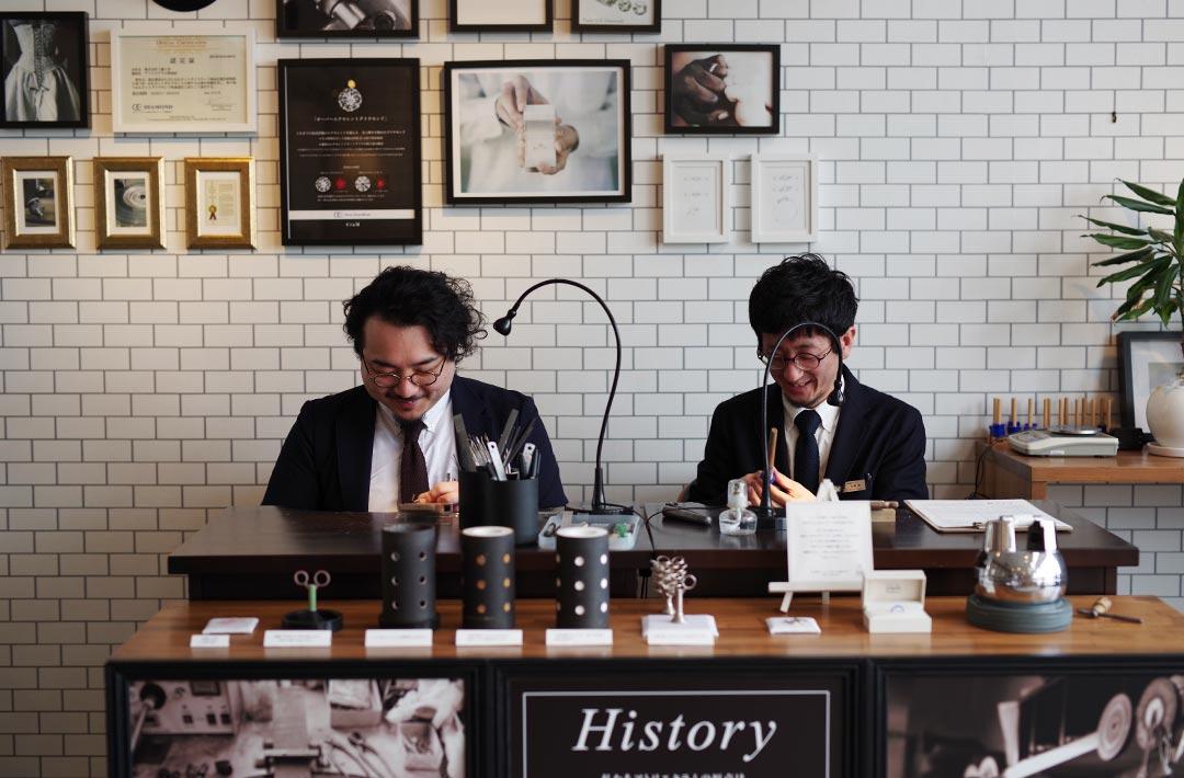 アトリエクラム新潟店と長岡店のマネージャースタッフ