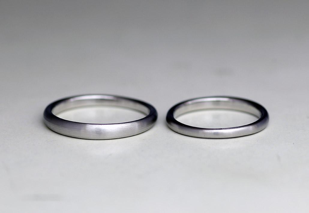 ミニマルな結婚指輪