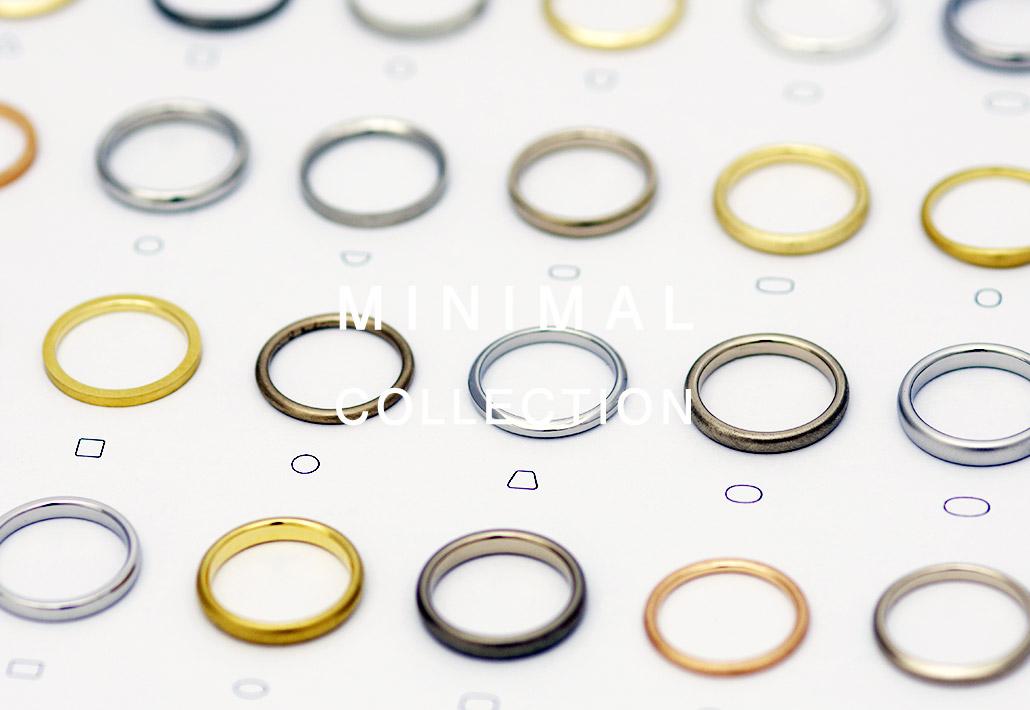 新潟のミニマルでシンプルな結婚指輪