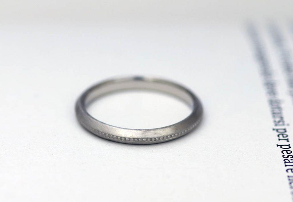 大きい結婚指輪