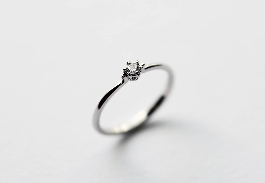 セミオーダーの婚約指輪
