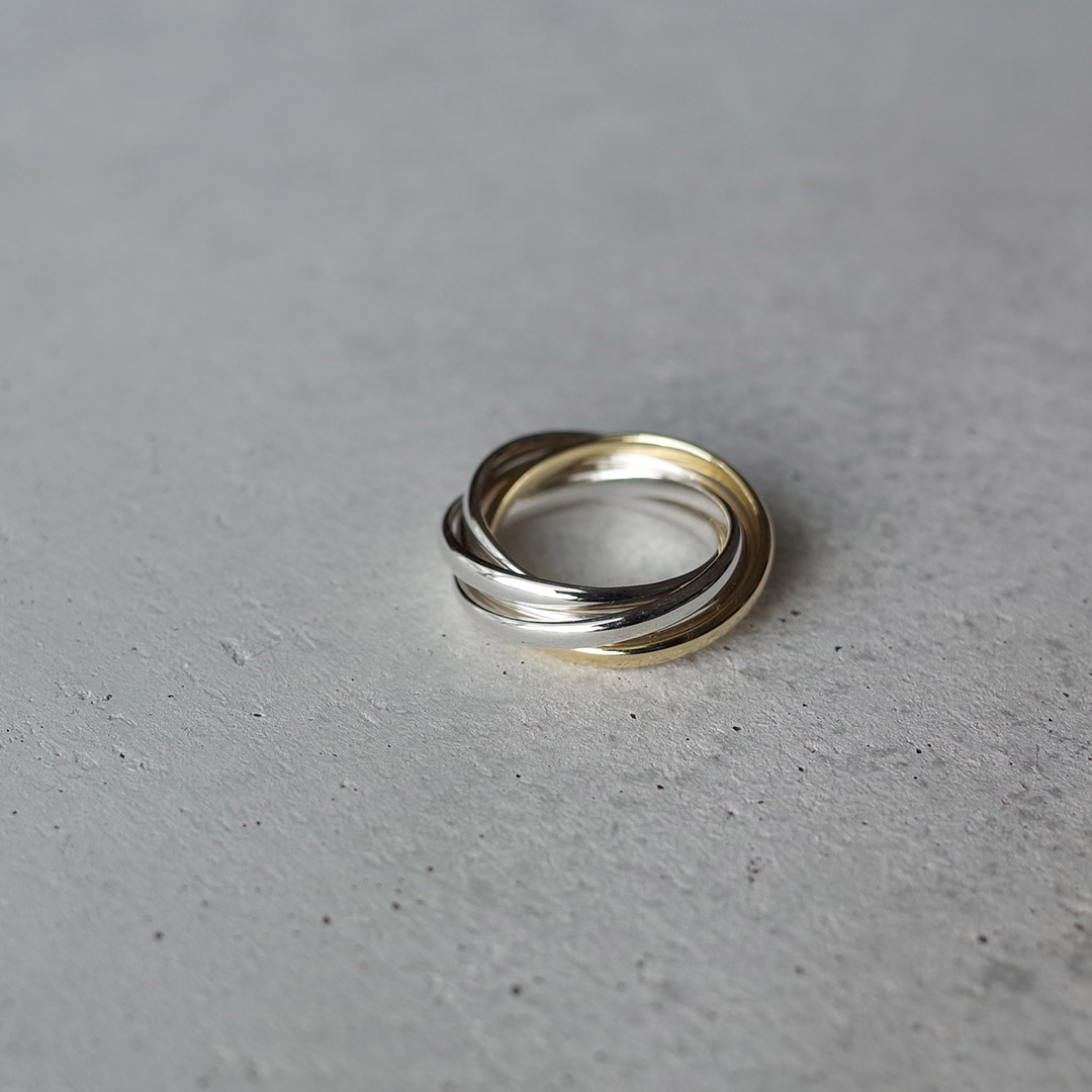 新潟で買える5連の結婚指輪(マリッジリング)