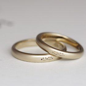 新潟の手作り結婚指輪