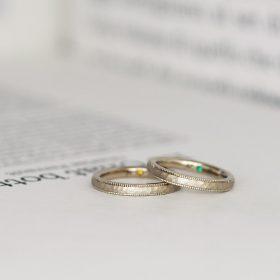 新潟でつくる結婚指輪