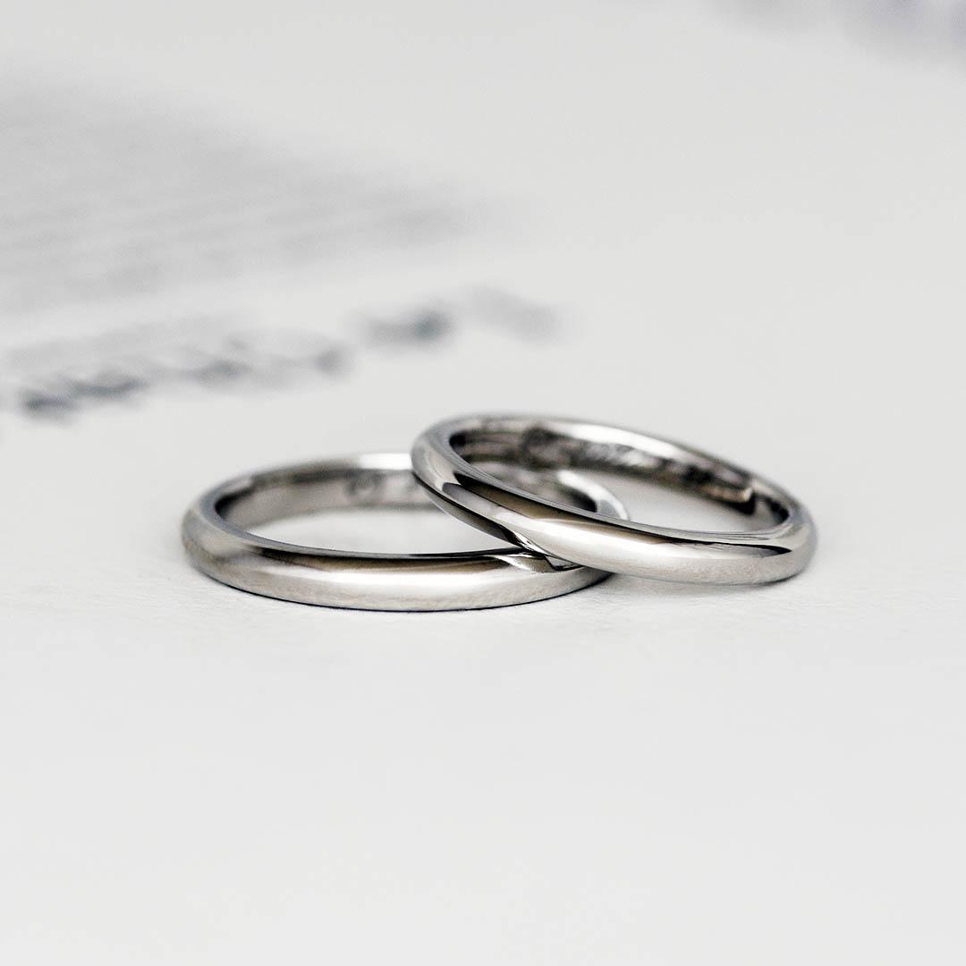 鍛造の結婚指輪