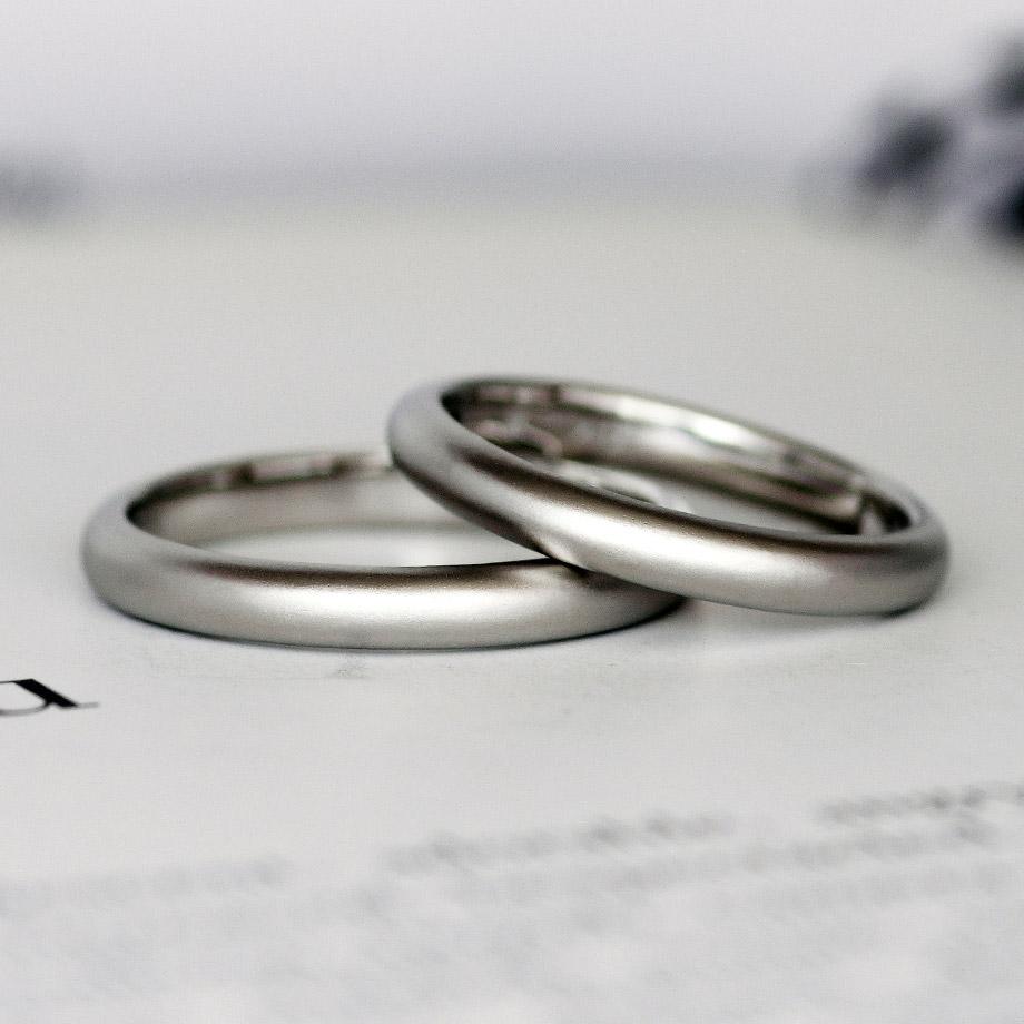 自宅で手作りする甲丸の結婚指輪