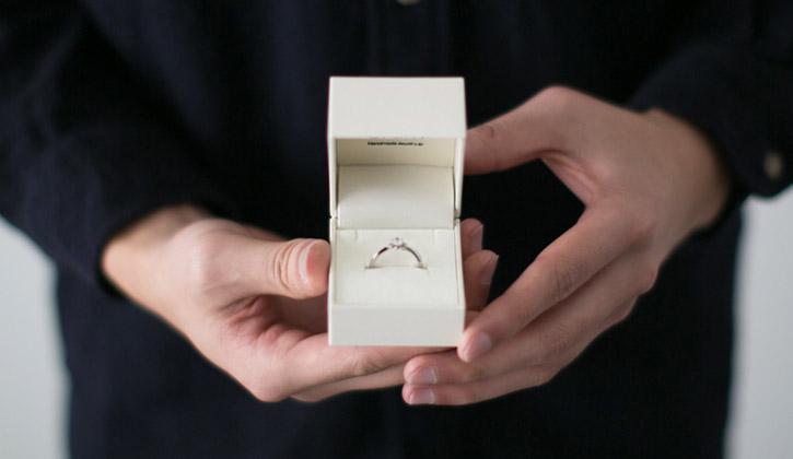 アトリエクラムのオリジナル婚約指輪(エンゲージリング)