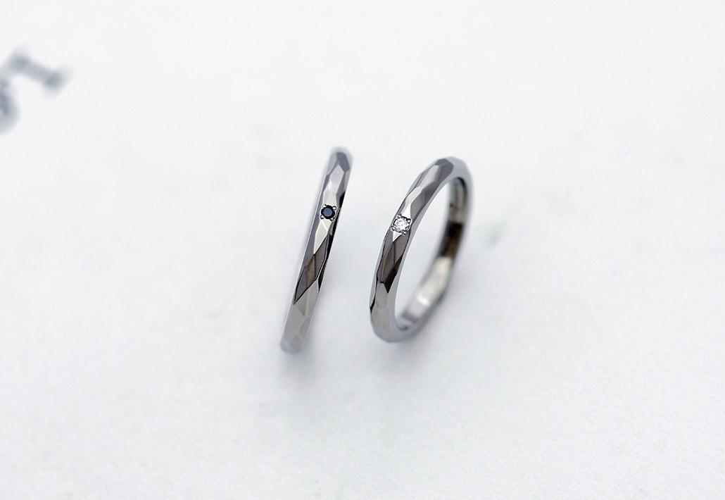 アレルギー対応の結婚指輪