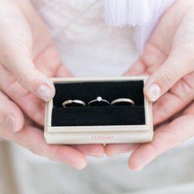 新潟で作った結婚指輪