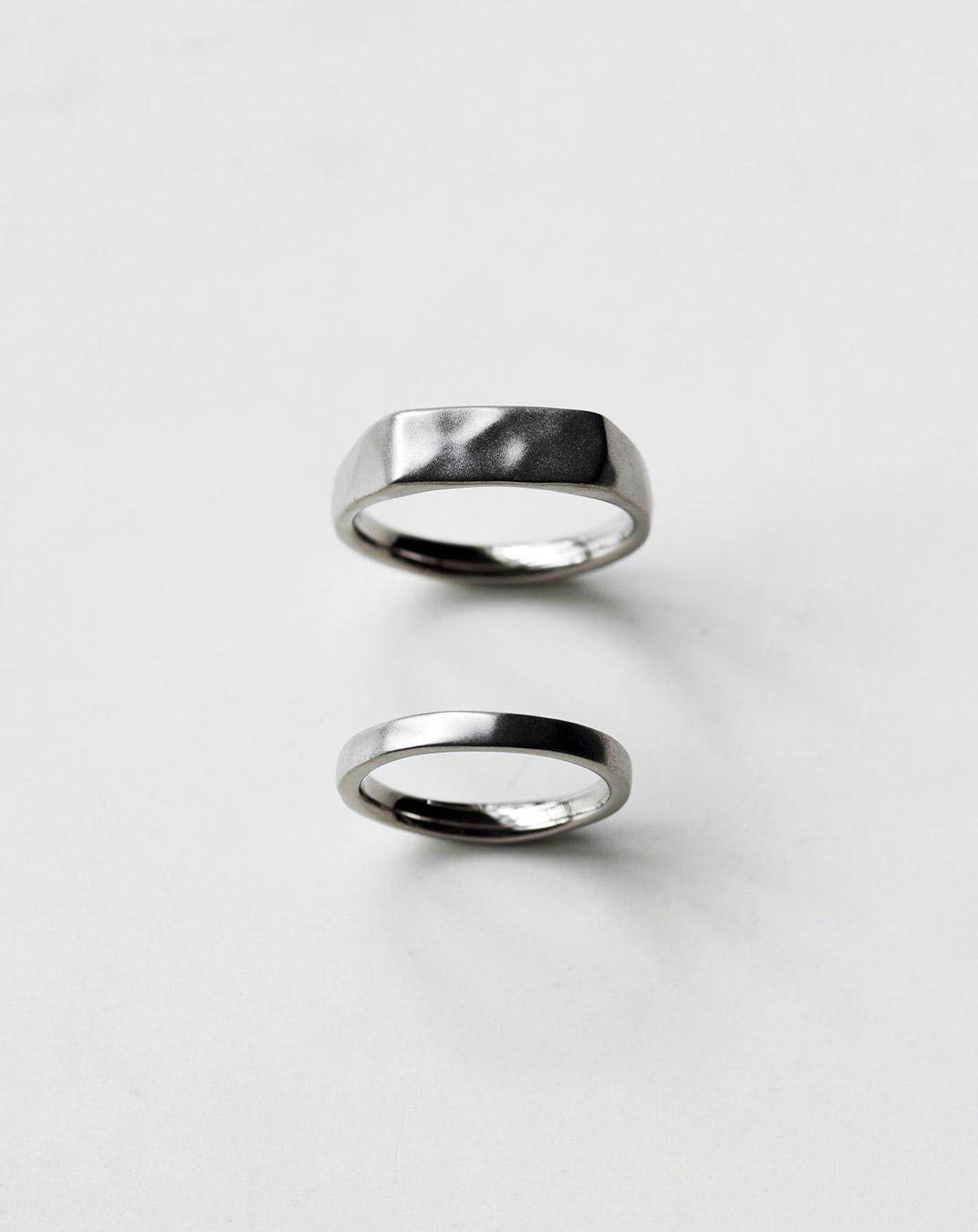 ファッションリングのような結婚指輪