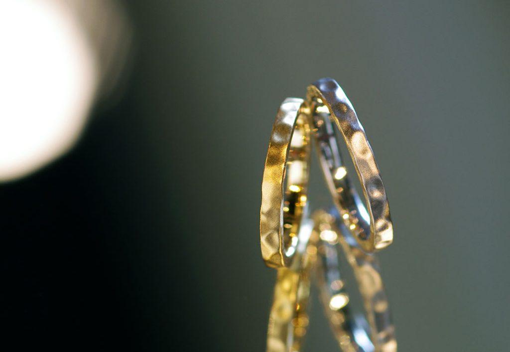 カスタムオーダーの結婚指輪(マリッジリング)