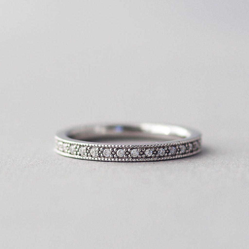 アンティークな婚約指輪(エンゲージリング・プロポーズリング)