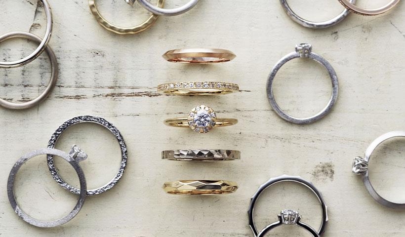 新潟の婚約指輪・結婚指輪のセミオーダーブランド
