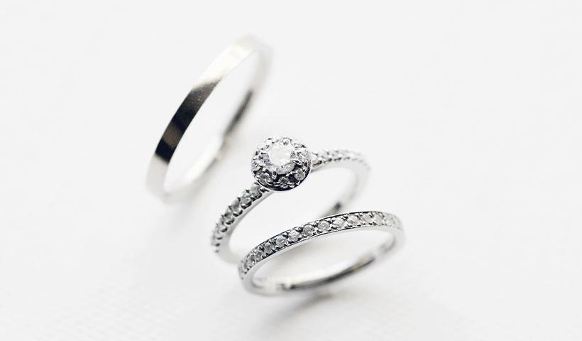 結婚指輪・婚約指輪のセットリング