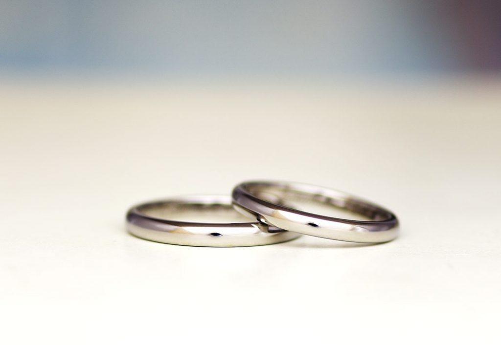 チタンの結婚指輪