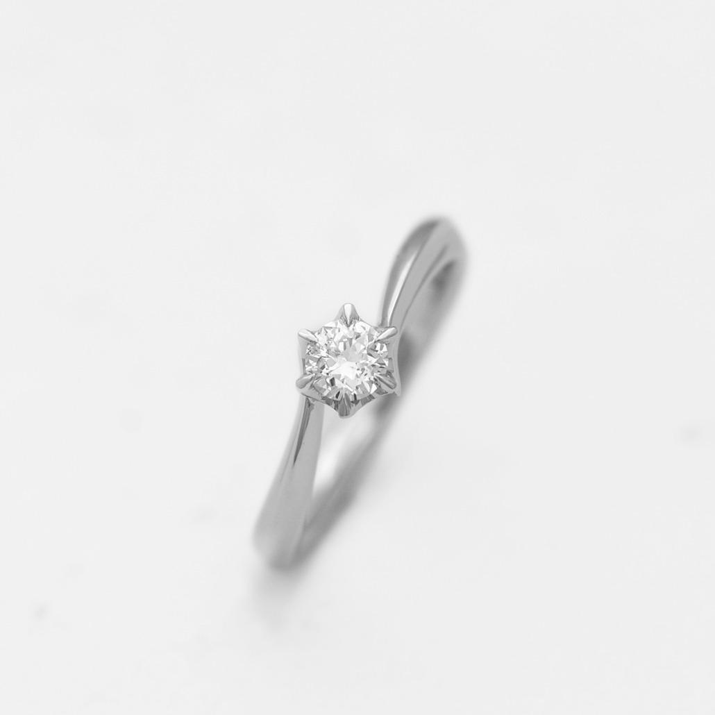 プラチナの手作り婚約指輪(婚約指輪・エンゲージリング)